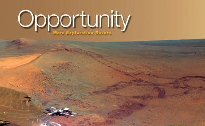 Le robot Opportunity a parcouru 40 kilomètres sur la planète Mars