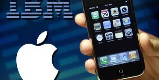 Apple et IBM s'associent pour introduire iOS dans les entreprises