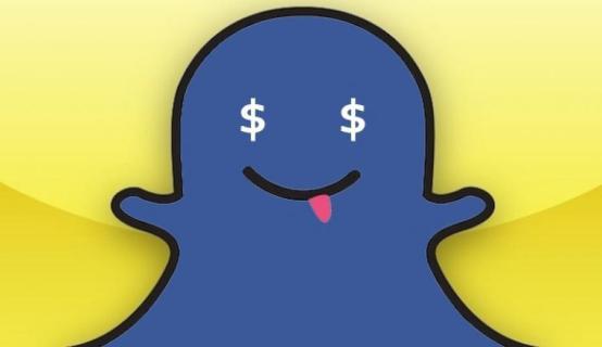 Snapchat a déposé deux brevet relatif au mode de paiement en ligne