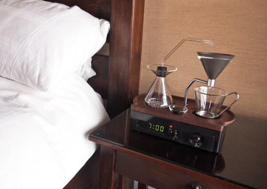 Vous rêviez que votre réveil vous fasse le café ?