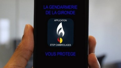 application mobile contre les cambriolages
