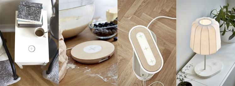 Ikea propose des meubles avec chargeur sans fil