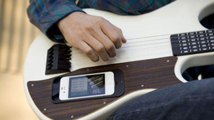 guitare connectée