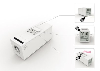 Sensorwake 3 fonctionnalités