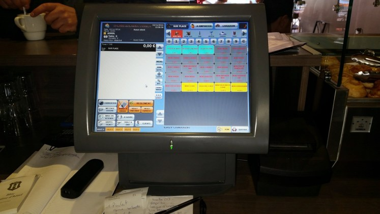 Caisse enregistreuse tactile, logiciel de caisse