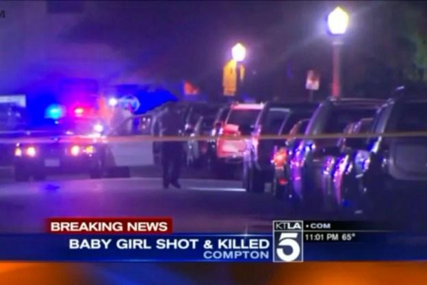 Un bébé tué par une balle perdue