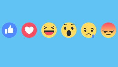 Réactions Facebook: on vous dit tout sur les nouveaux émoticônes