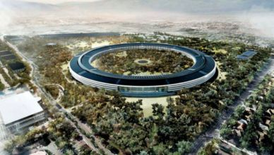 Soucoupe volante Apple campus 2