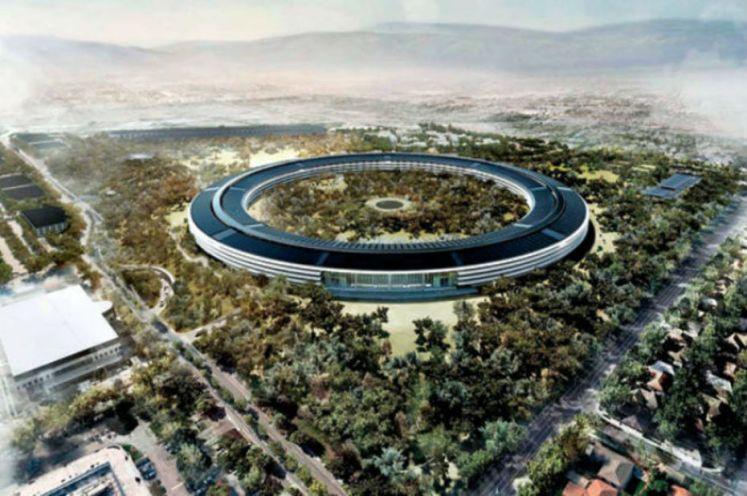 Soucoupe volante Apple campus 2