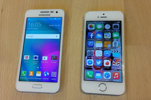 iPhone 6 vs Samsung Galaxy