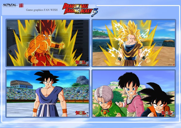 Plaquette de visualisation de Dragon Ball Raging Blast 3