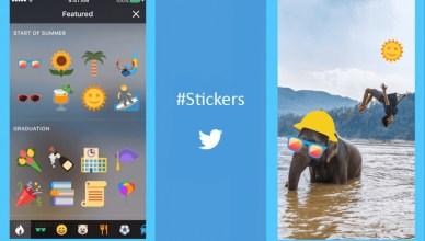 #Stickers, la nouvelle fonctionnalité lancée sur la plateforme de micro-blogging Twitter