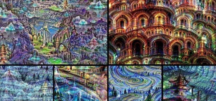 Création réalisée par une intelligence artificielle