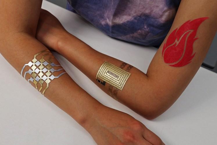 DuoSkin: le MIT et Microsoft conçoivent le tatouage intelligent