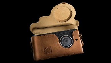 Cette photo représente le smartphone Ektra développé par Kodak.