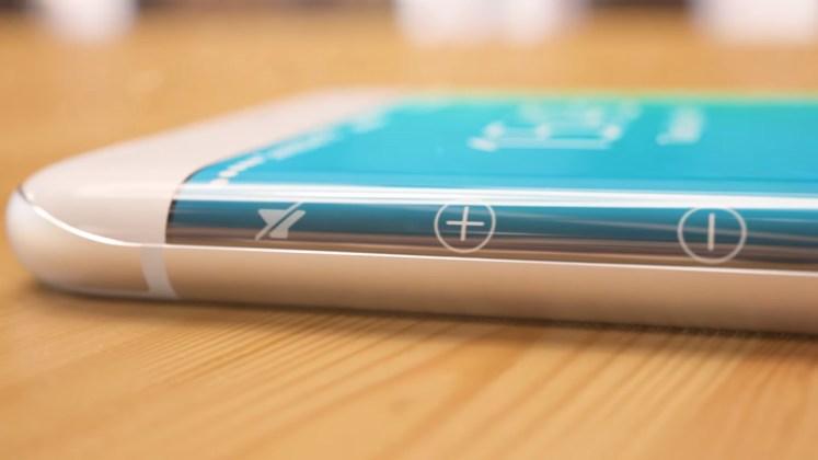ecran-incurve-de-l'iphone-8