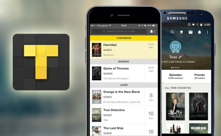 TVShow Time, l'application pour séries