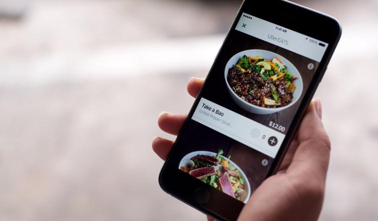 Uber Eats, la livraison de repas à domicile