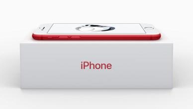 L'iphone 7 devient rouge pour lutter contre le Sida
