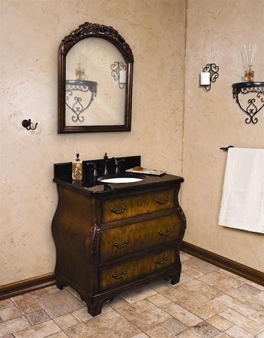 french country bathroom vanities - styles to fit your taste