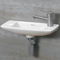 Wall Mounted Bathroom Sinks For Your Half Bath Or Water Closet