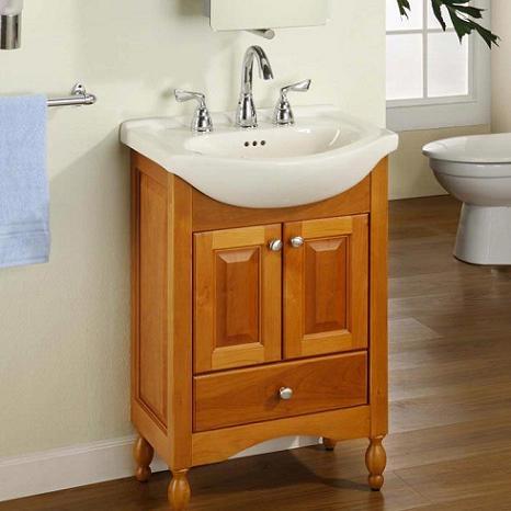 Narrow Bathroom Vanities  A Simple Solution For A Small Bathroom