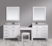 Bathroom Makeup Vanity: Building A Makeup Station From ...