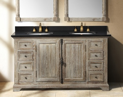 Driftwood Bathroom Vanities  A Trendy Choice For A