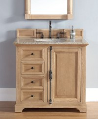 Unfinished Solid Wood Bathroom Vanities From James Martin ...