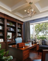 Home Office Chandeliers - Designer Fixtures For Your Workspace