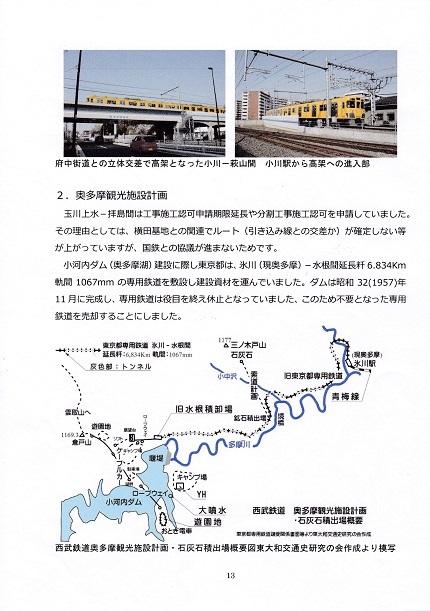 拝島線の歴史と拝島線となってから15