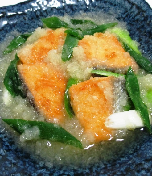 甘塩鮭のおろし煮 B