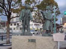 ゆーけーのお仕事日記-秀吉と三成出会いの像