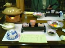 ゆーけーのお仕事日記-宿のお食事