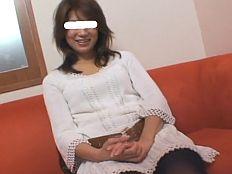 【無】スタイル抜群の美爆乳主婦が久しぶりのHで喘ぎまくりの中田氏ハメ撮りw
