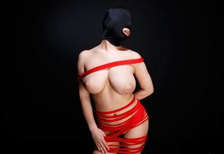 【◆無修正◆】まさに不二子ちゃん~!!!!訳ありで顔出しNGのデカ乳M女が性欲処理マゾマスクとなる
