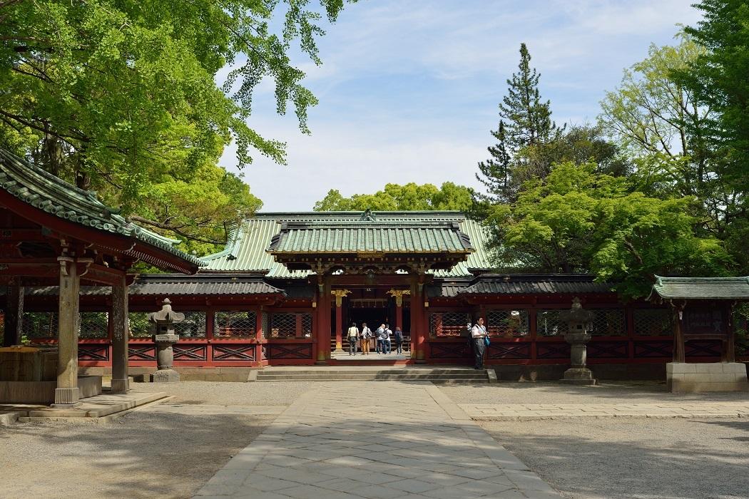 根津神社にて - Photography