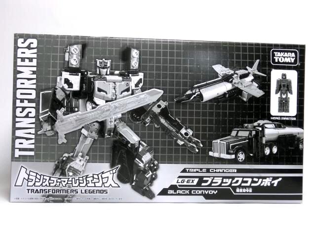 taabou's toybox 東京おもちゃショー2017限定「lg-ex ブラックコンボイ