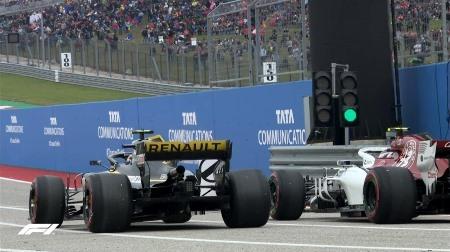 2018年F1第18戦アメリカGP、FP3結果