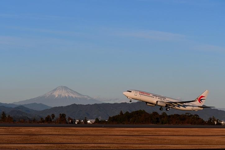 富士山靜岡空港 赤富士 - 乗り物