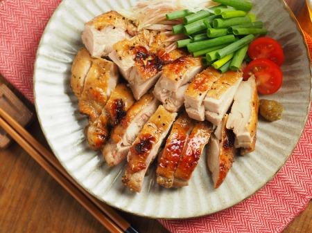 鶏もも肉のぽん酢漬け、オーブントースター焼き - 魚料理と簡単レシピ