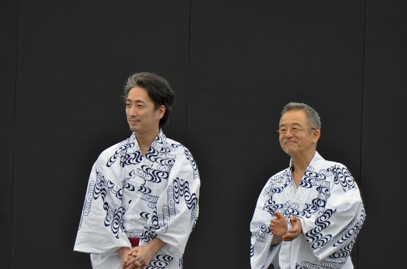 まつもと大歌舞伎 「切られの与三」登城行列・松本城市民ふれあい座3 (2)