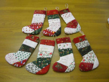 ハワイアンキルト むら染め 通販ショップ 〝布や〟-クリスマスブーツ
