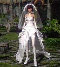Skyrim Wedding Dress.Skyrim Wedding Dress Mod Weddingdress At Skyrim Nexus