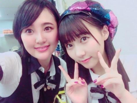 170930HKT48-AKB48兒玉遥(はるっぴ)-1 with田中美久