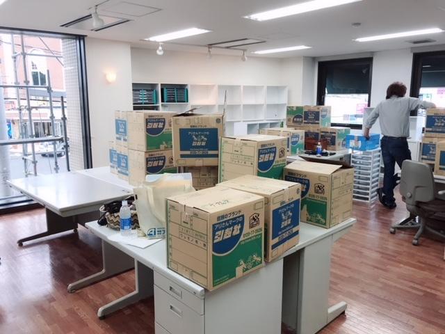 新事務所③搬入!