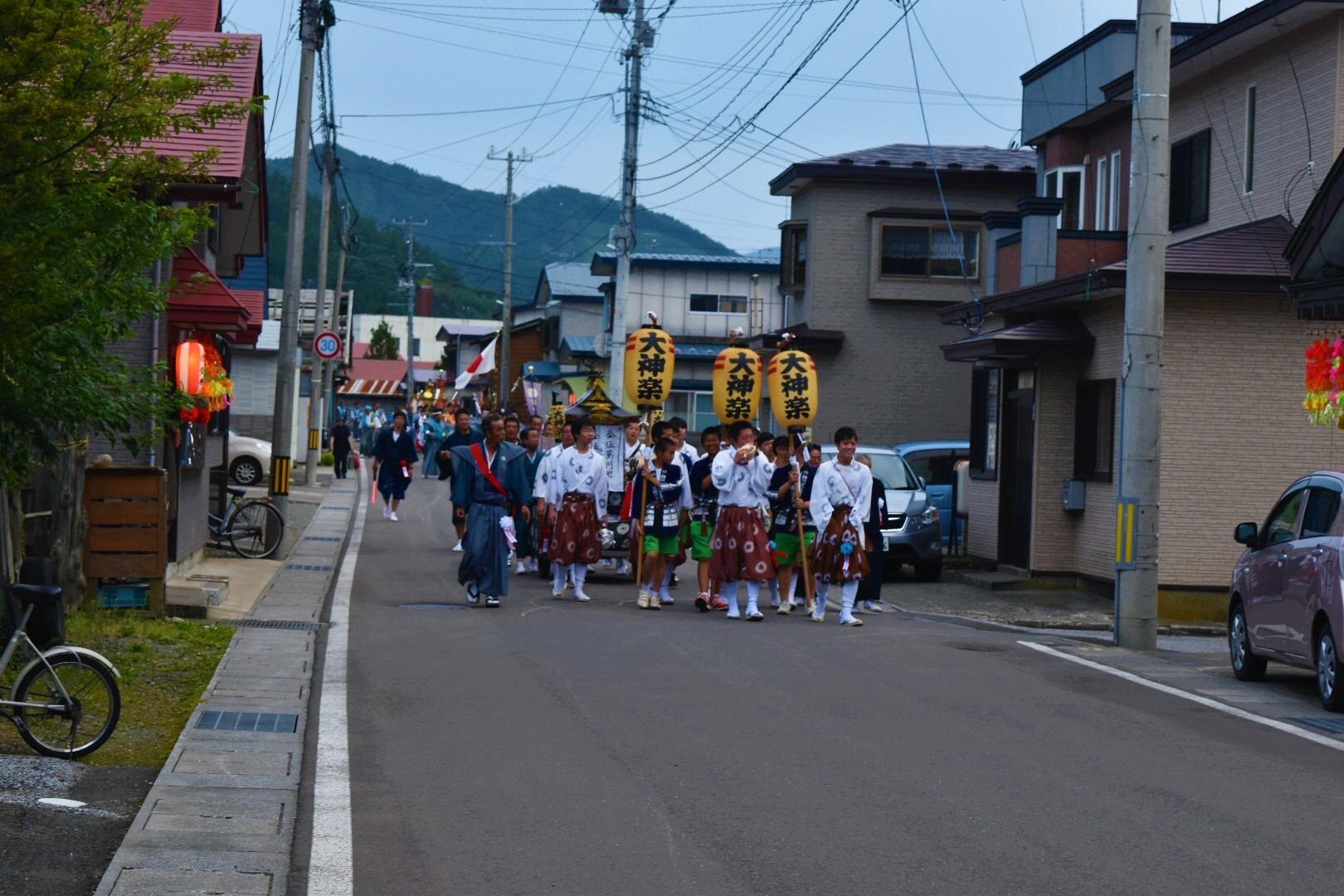 青森県佐井村 下北半島の祭りはまだ終わらない。箭根森八幡宮例大祭。 - イベント