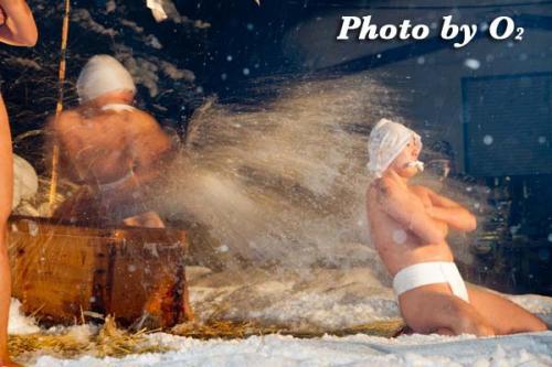 佐女川神社 寒中みそぎ 水ごり