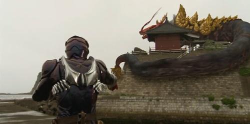仮面ライダー響鬼が巨大オロチにやられてヒーロー敗北