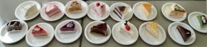 ケーキ15個